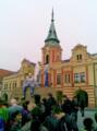 Natáčení pilotního dílu seriálu Městečko 2012 (1)
