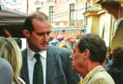 Natáčení seriálu Bazén na Mělníku 2005