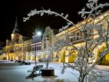 Náměstí pod sněhem