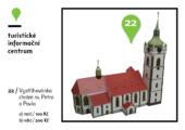 Vystřihovánka chrám sv. Petra a Pavla, různé velikosti