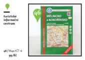 Mapa KČT č. 16 - Mělnicko a Kokořínsko