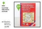 Mapa RoSy Kokořínsko - Máchův kraj