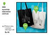 Taška - látková taška s motivem mělnických věží
