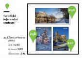 Zimní pohlednice Mekuc